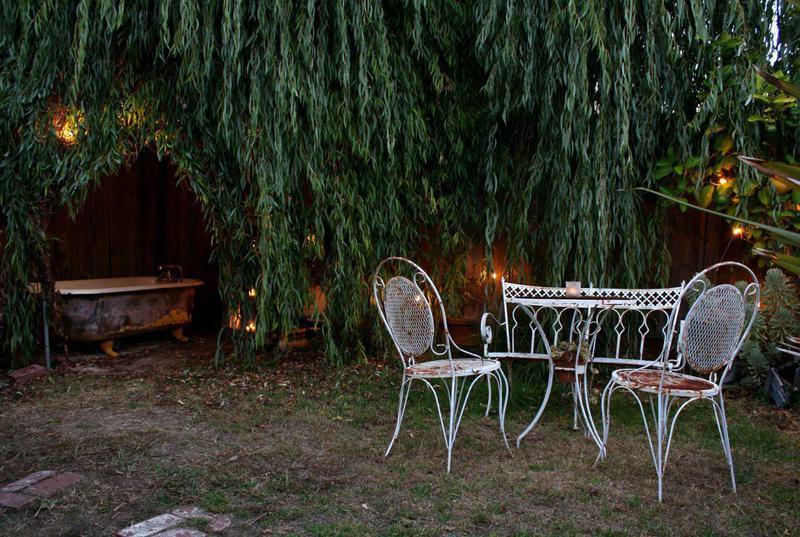 Shabby Chic garden design