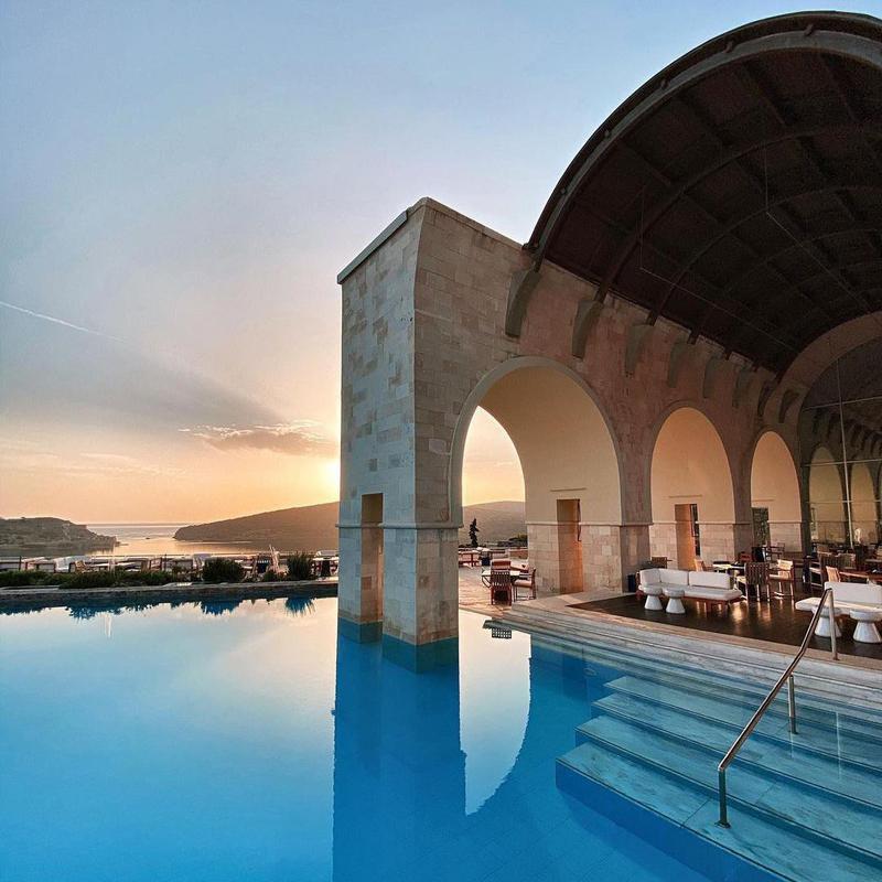 Iconic Pool in Crete
