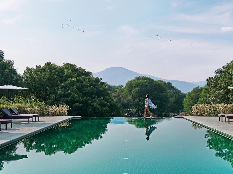 Luxury eco resort in India