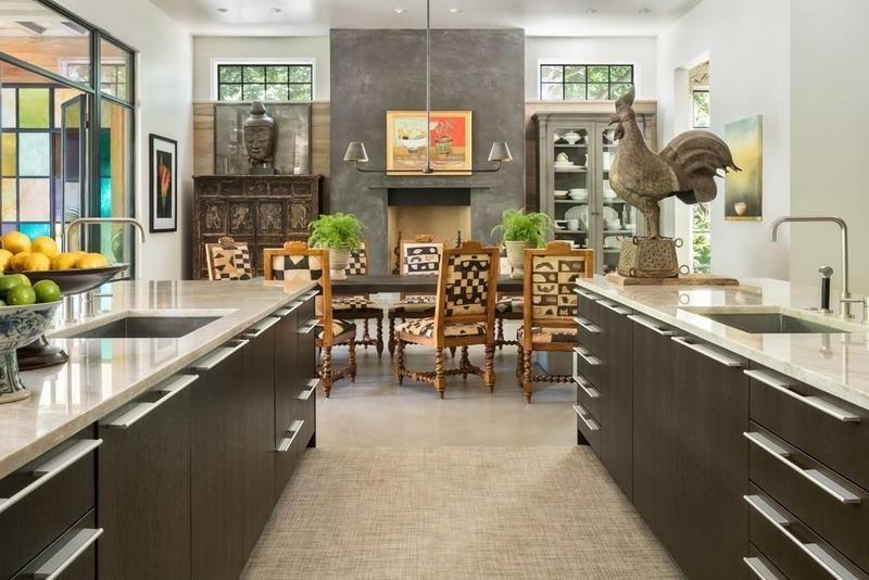 Joe Rogan's kitchen