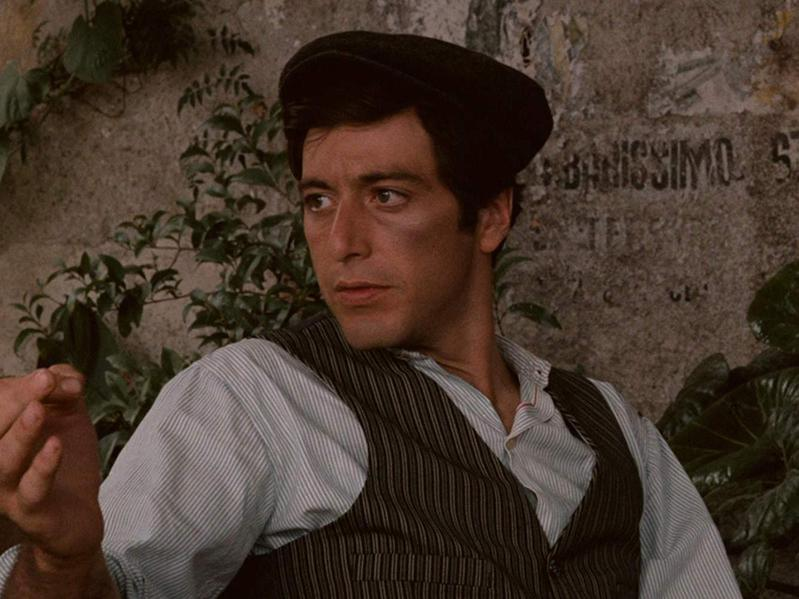"""Al Pacino in """"The Godfather."""" (1972)"""