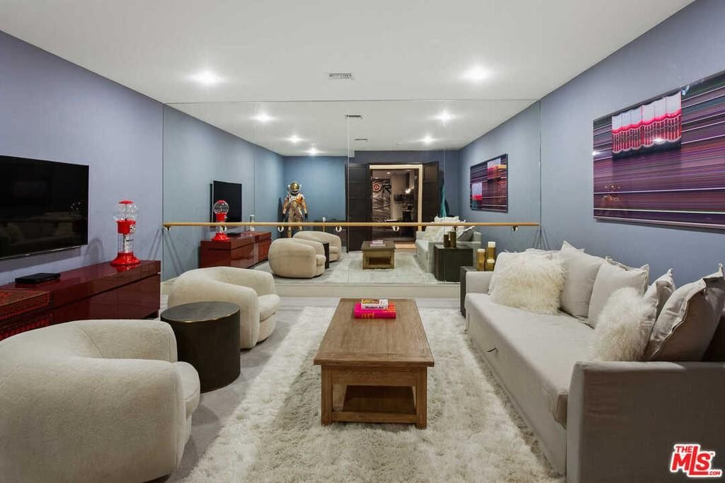 Matt Damon's basement