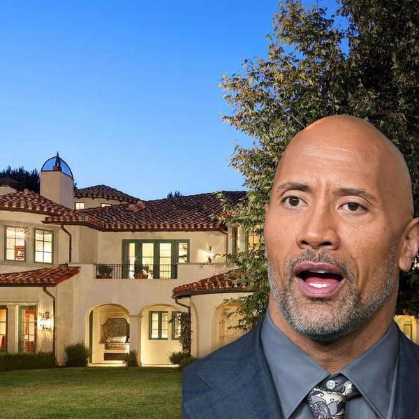 Inside The Rock's Beautiful $28M California Mansion
