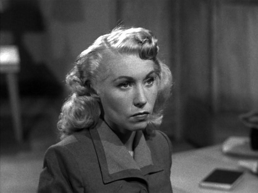 "Dolores Fuller in ""Jail Bait"""