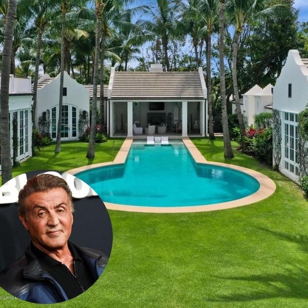 Inside Sylvester Stallone's $35M Palm Beach Estate