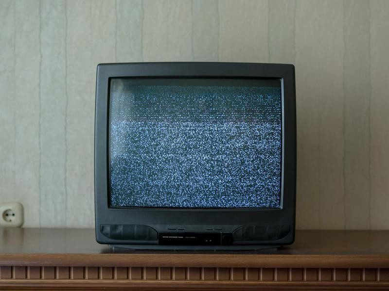 Watching in Horror as TV Signed Off for the Day
