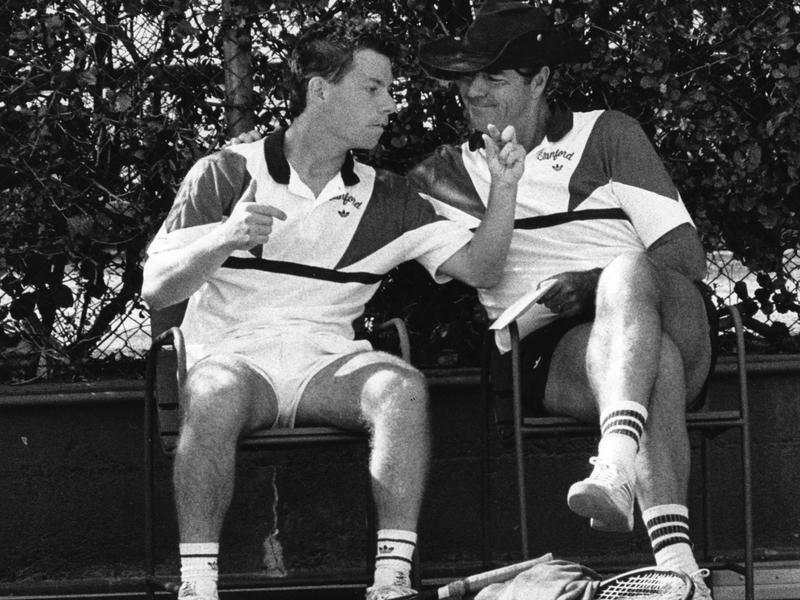 Dick Gould and Glenn Solomon