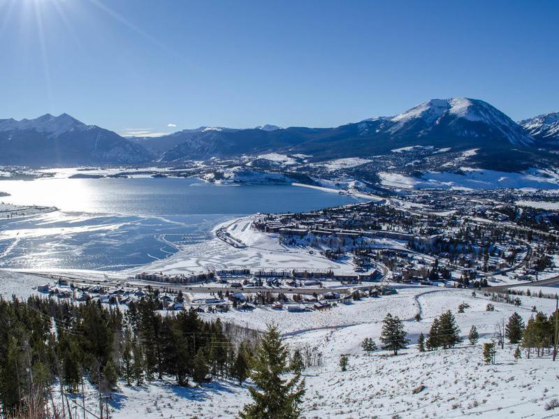 Lake Dillon in the Winter
