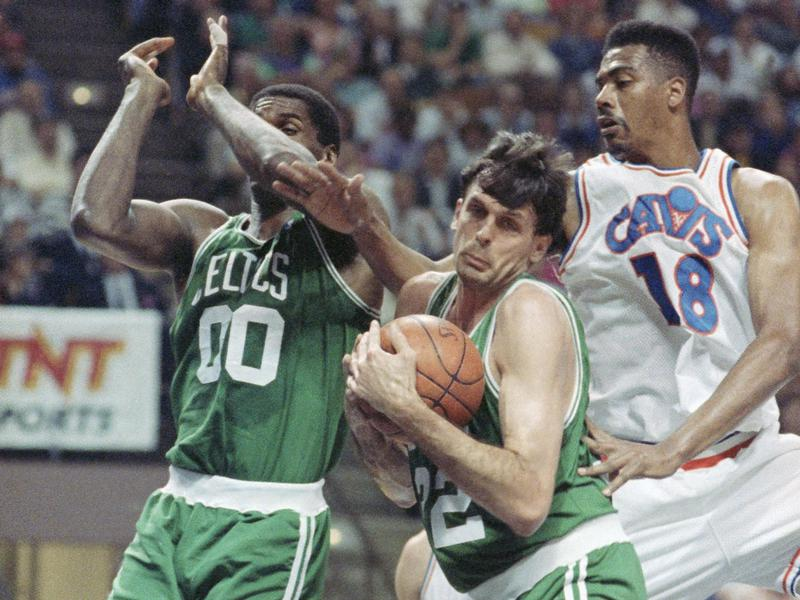 Kevin McHale and Robert Parish