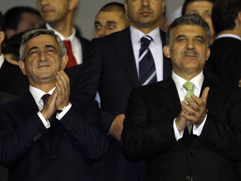Serge Sarkisian and Abdullah Gul
