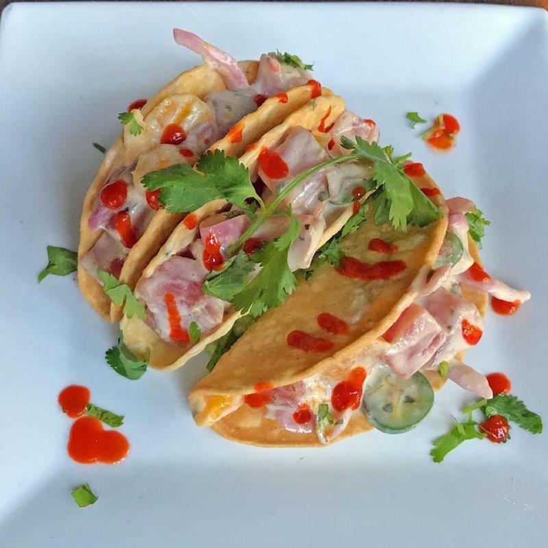 Red Mesa Cantina tuna tacos St. Pete, Florida