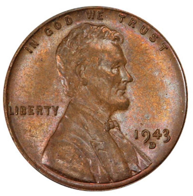 1943-D Lincoln Bronze Cent