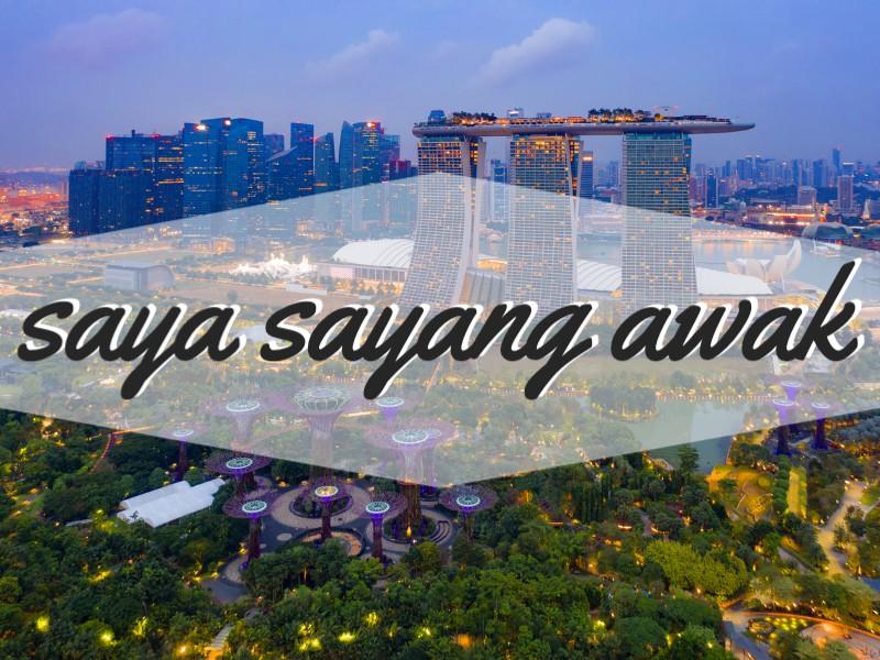 'I Love You' in Malay