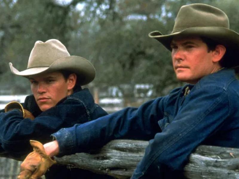 Matt Damon and Henry Thomas