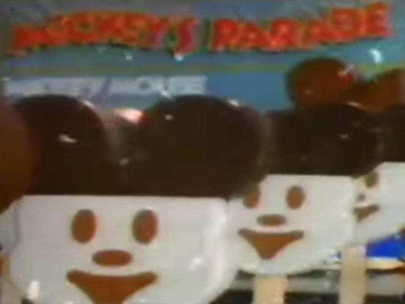 Mickey's Parade Mickey Mouse Bars