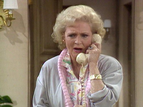 Betty White as Rose