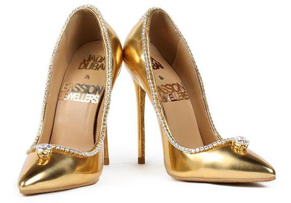 Passion Diamond Shoes worth $17 million, most expensive shoes in the world