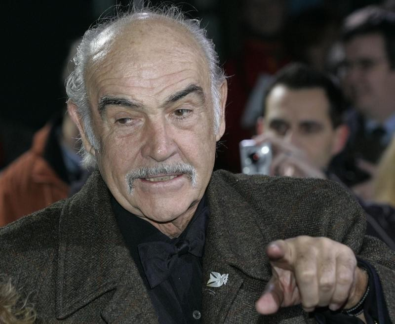Sean Connery in 2005