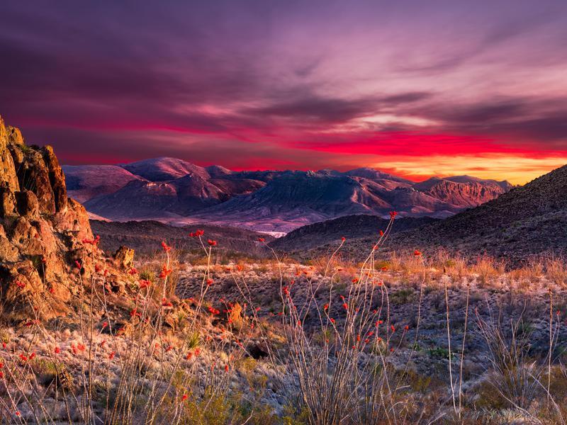 Big Bend National Park Sunset