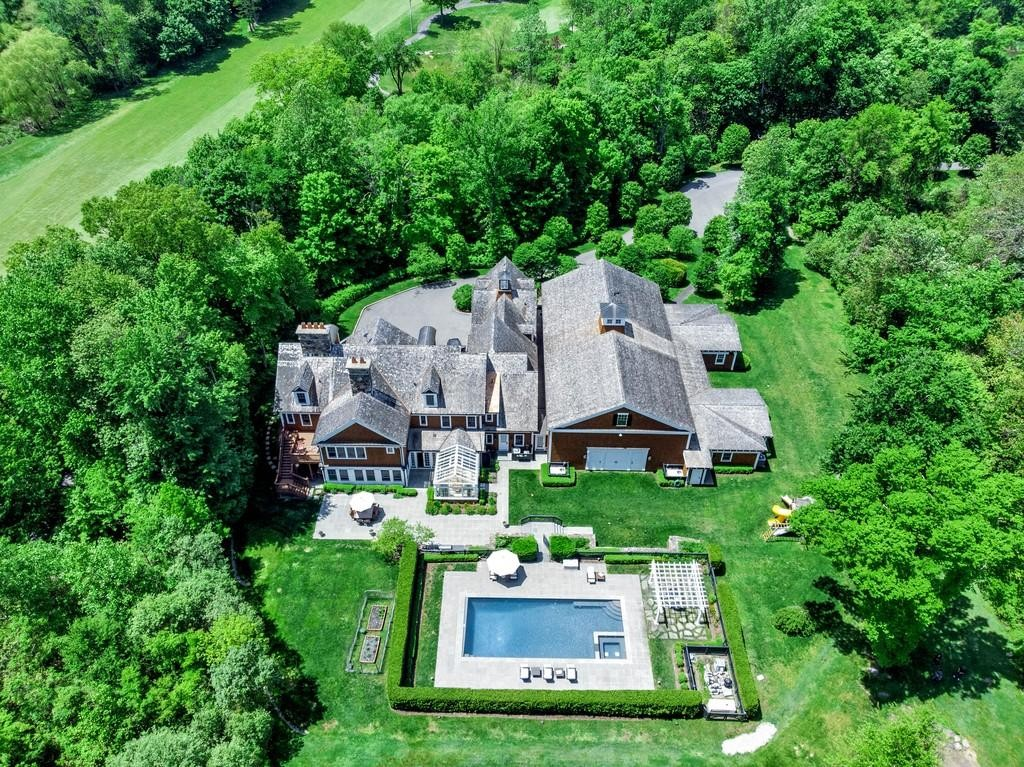 Mansion in Purchase, New York