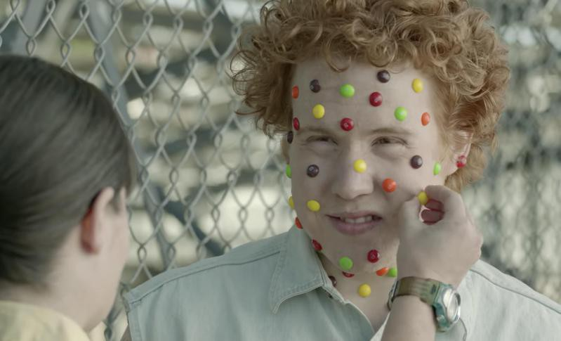 Skittles commercial