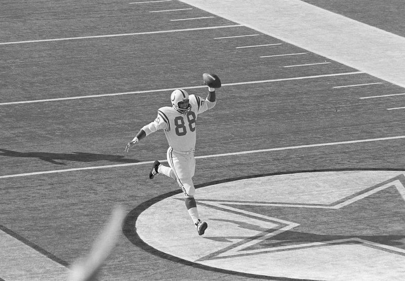 John Mackey in Super Bowl V