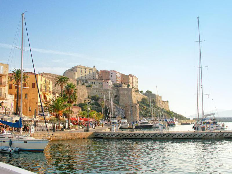 Calvi Citadel in Corsica, France