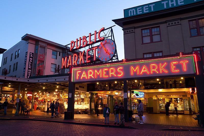 Pike Place Market, Washington