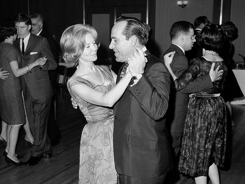 Carmen and Yogi Berra