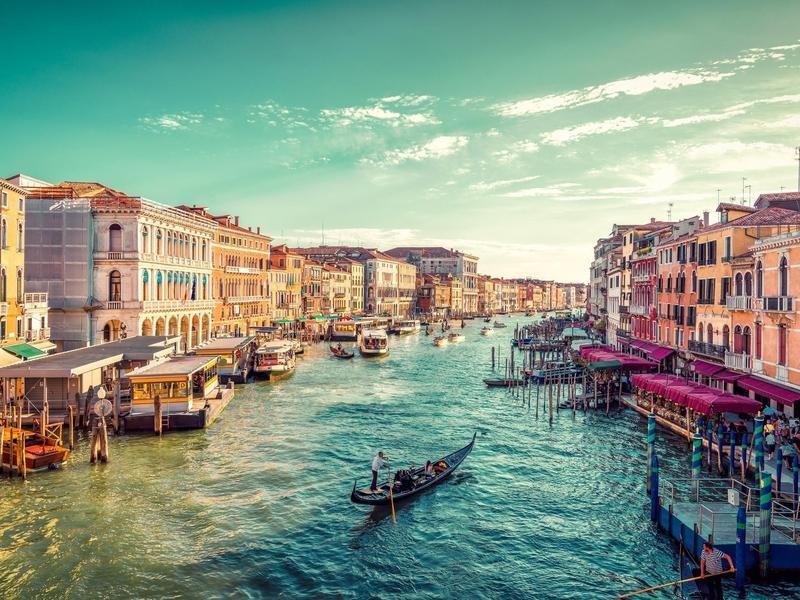 Venice's Grand Canl