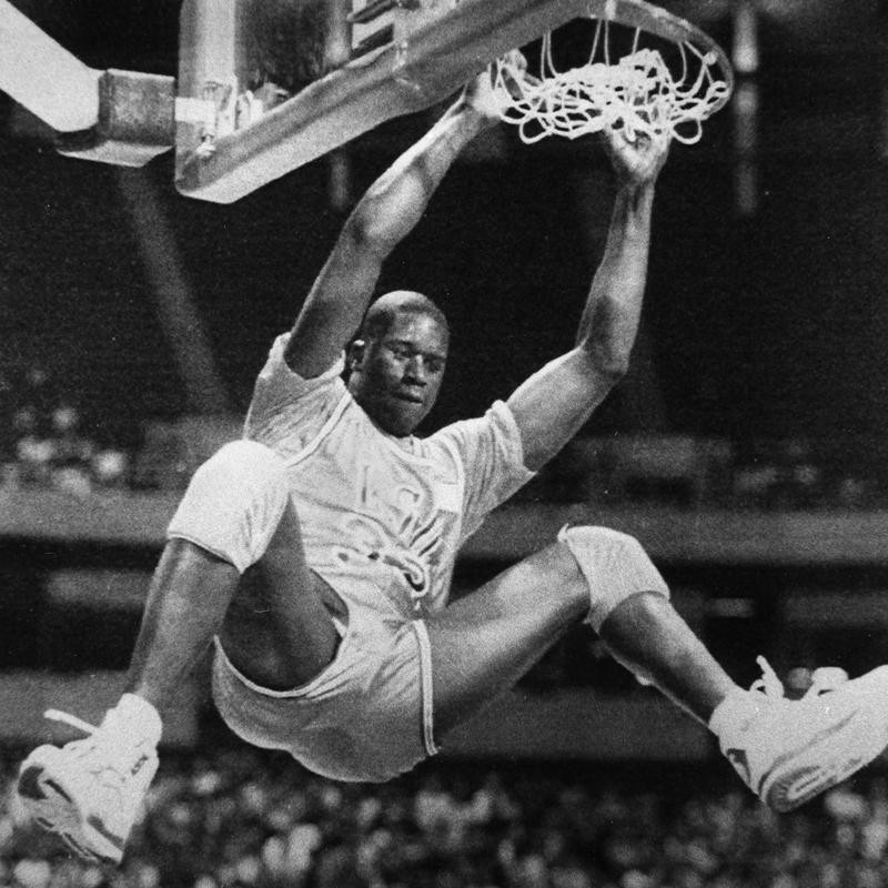 Shaquille O'Neal in 1991