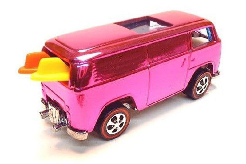 1969 Pink, Rear-Loading VW Beach Bomb
