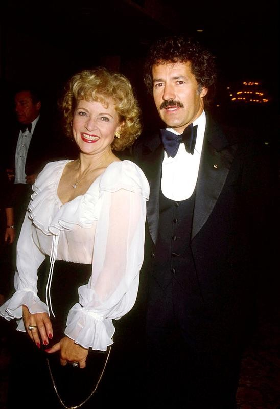 Alex Trebek and Betty White