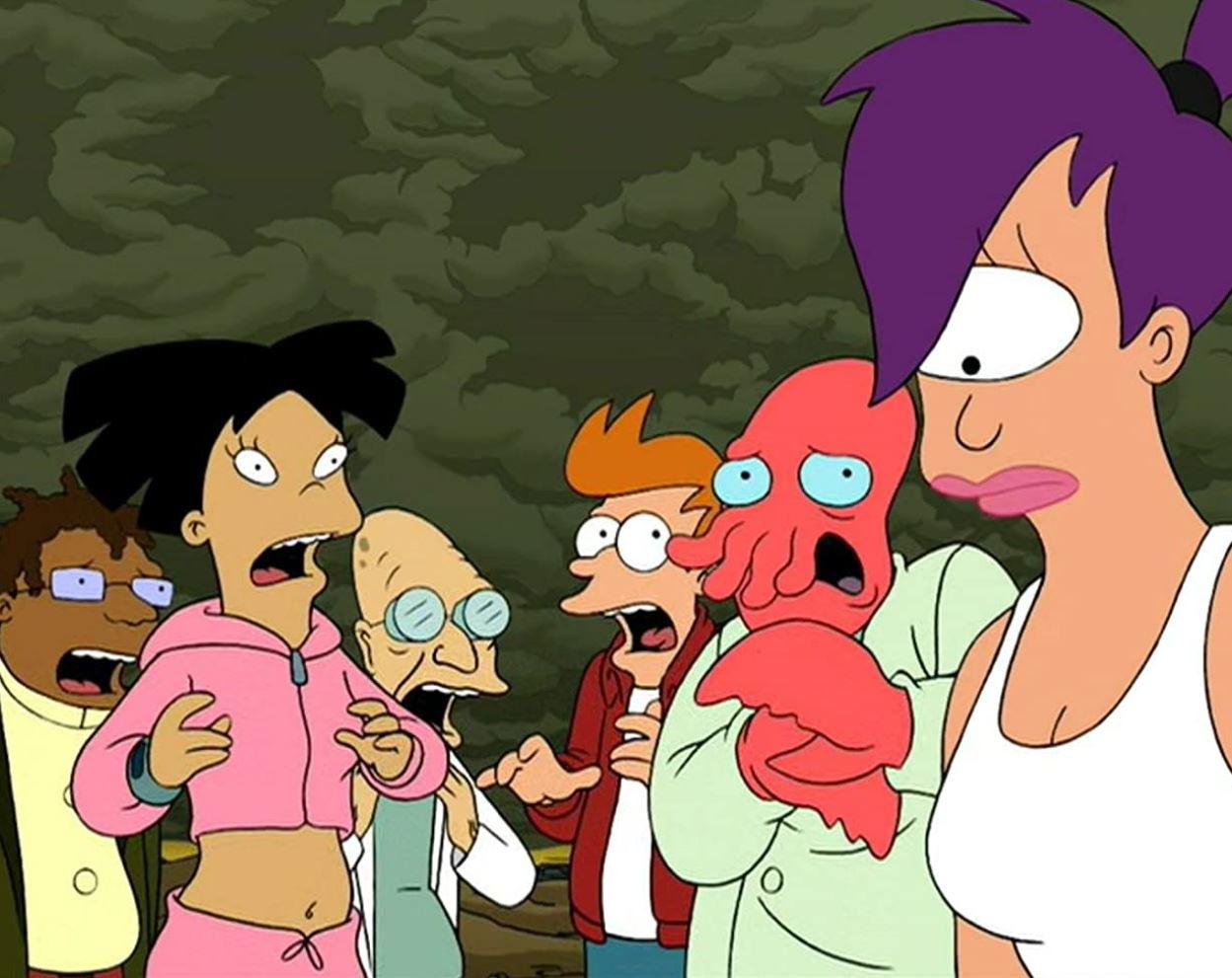 The Futurama crew