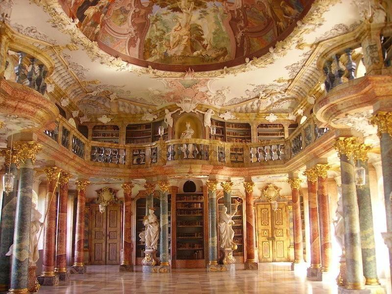 Wiblinglen Abbey Library
