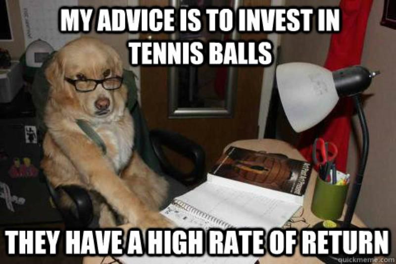 Tennis ball investment