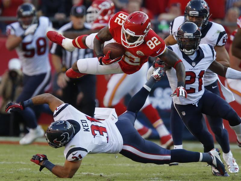 Kansas City Chiefs wide receiver Dwayne Bowe
