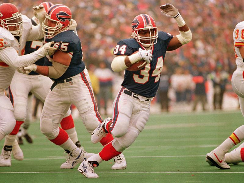 Thurman Thomas in action