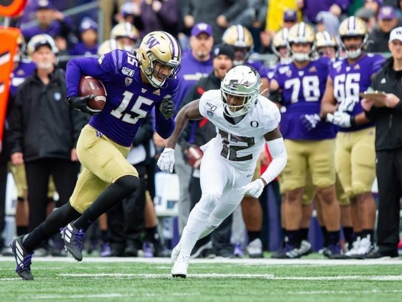University of Washington wide receiver Puka Nacua