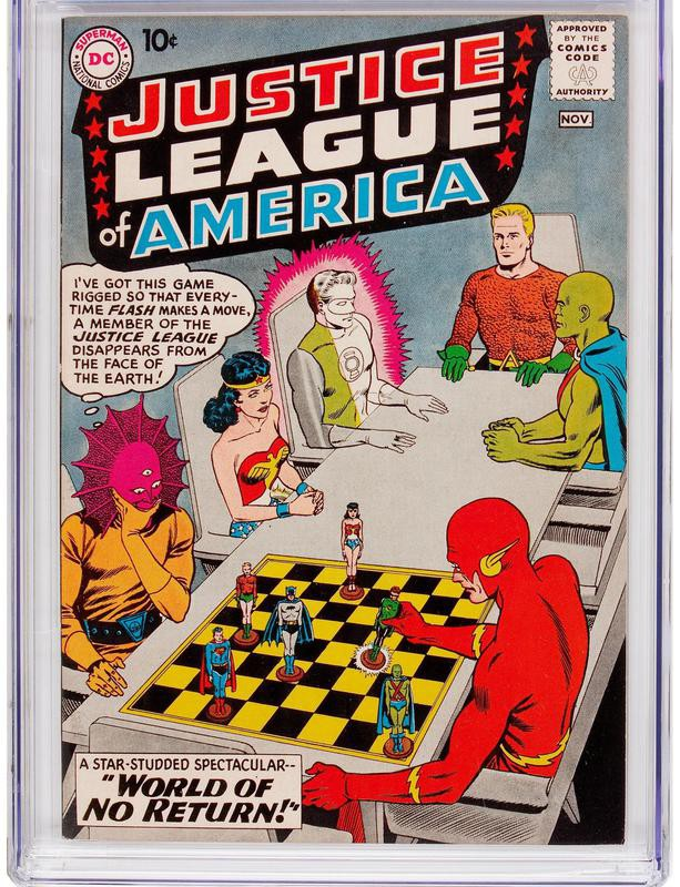 Justice League of America No. 1