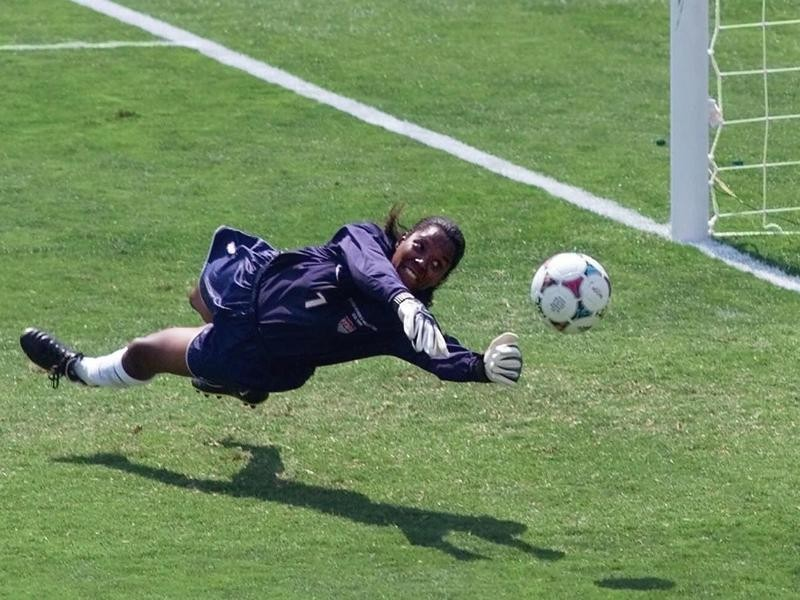 USWNT goalkeeper Briana Scurry