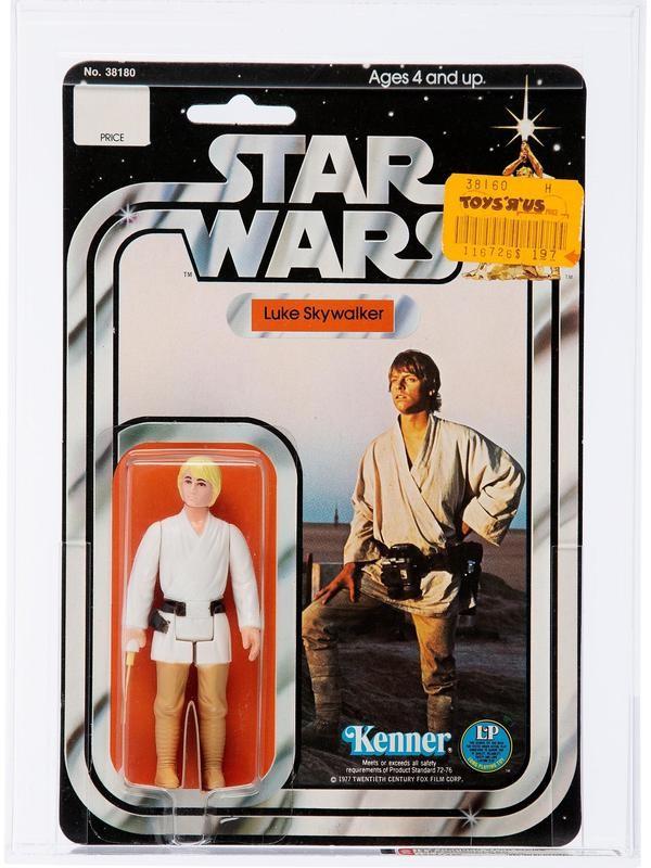 Luke Skywalker With Double-Telescoping Lightsaber (1978)