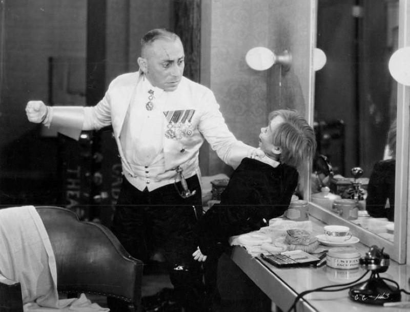 """Erich von Stroheim in """"The Great Gabbo"""""""