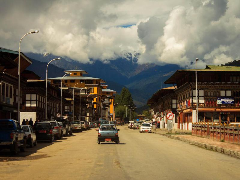 Bhutan street
