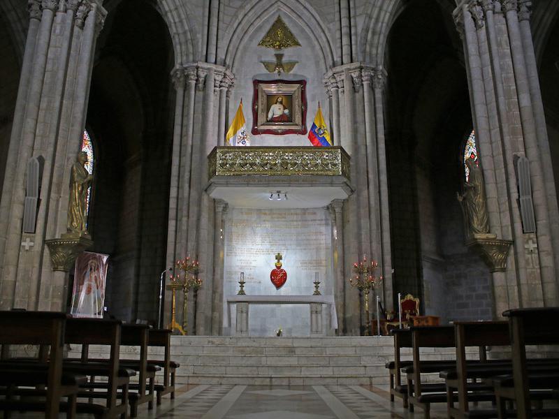 Basilica of the National Vow interior