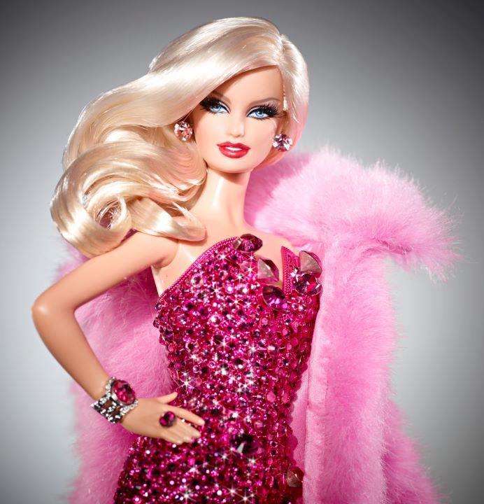 Pink Diamond Barbie