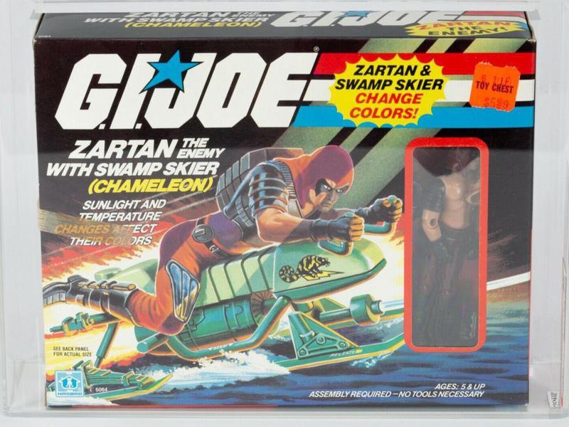 Zartan with Chameleon Swamp Skier