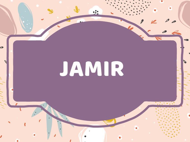 'J' Boy Names Unique: Jamir