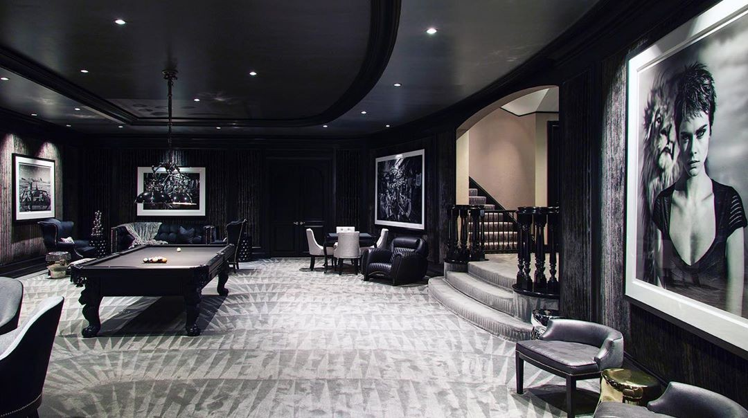 Game room of the Manor