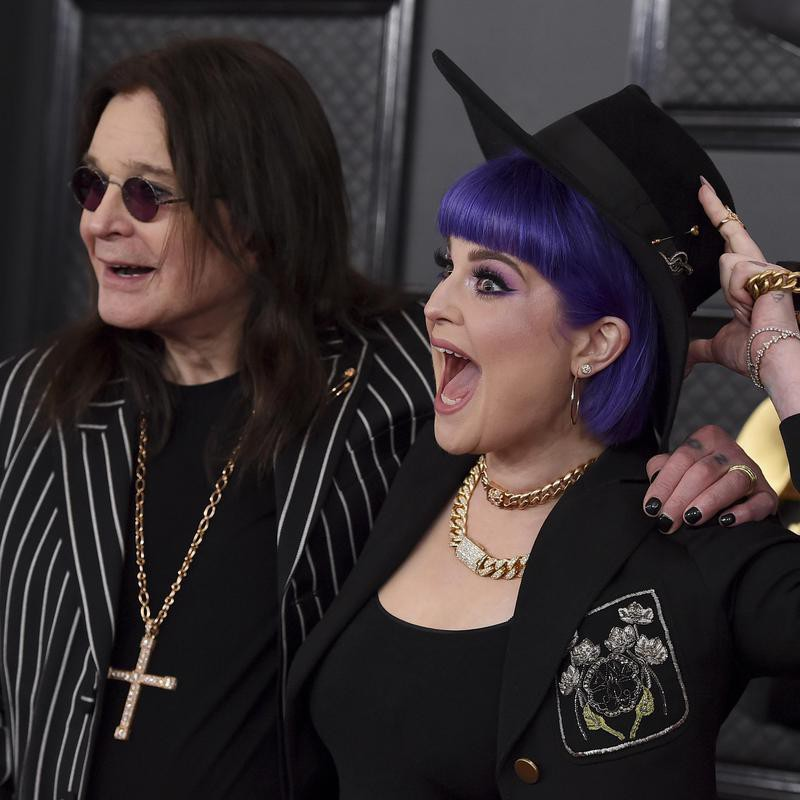 Ozzy and Kelly Osbourne